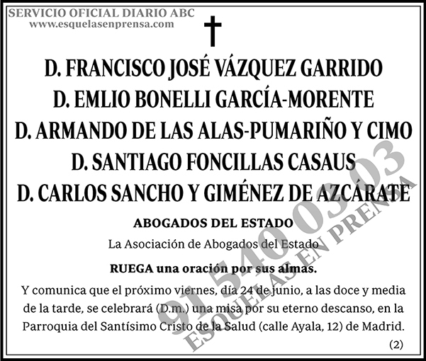 Francisco José Vázquez Garrido